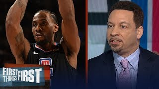 Kawhi Leonard should 'absolutely not' be considered for MVP - Broussard | NBA | FIRST THINGS FIRST