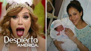 Le recordamos a Karla el día que nació su primera hija