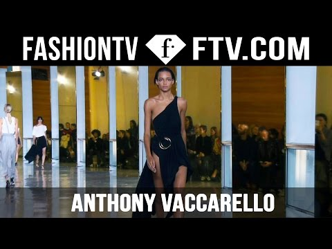 Anthony Vaccarello Spring 2016 at Paris Fashion Week