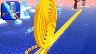 Spiral Roll - All Levels Gameplay Android,ios #88