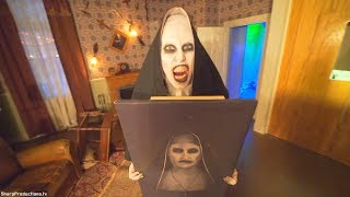 The Conjuring maze at Warner Bros. Studio Tour Horror Made Here A Festival of Frights