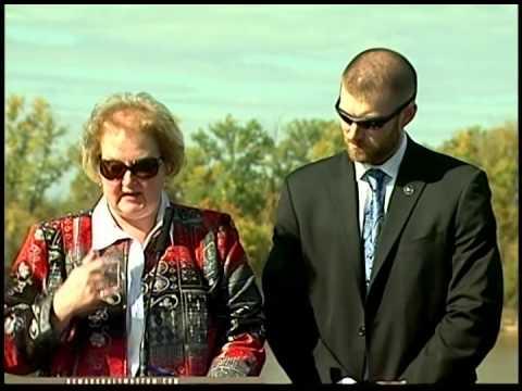 Pamela and Dustin Hotsinpiller Speech- Hall of Honor Cornerstone Dedication 11/9/13