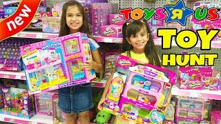 Toy Hunt At Toys R Us - NEW Toys Shopkins Happy Places, Disney Dolls, GiftEms, Num Noms, Animal Jam