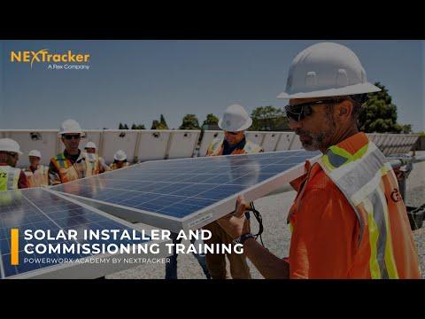 PowerworX Solar Installer Academy at NEXTracker's Center for Solar Excellence.