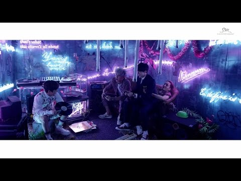 EXO 엑소 'LOVE ME RIGHT' MV unreleased clip1_ CHANYEOL&KAI&SEHUN Ver.