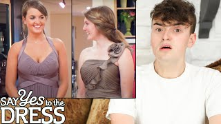 Fashion Critic Reacts to UGLY Say Yes To The Dress Bridesmaids (hideous dresses)