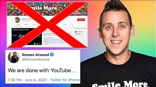 Why Roman Atwood QUIT YOUTUBE FOREVER... (What happened to Roman Atwood)