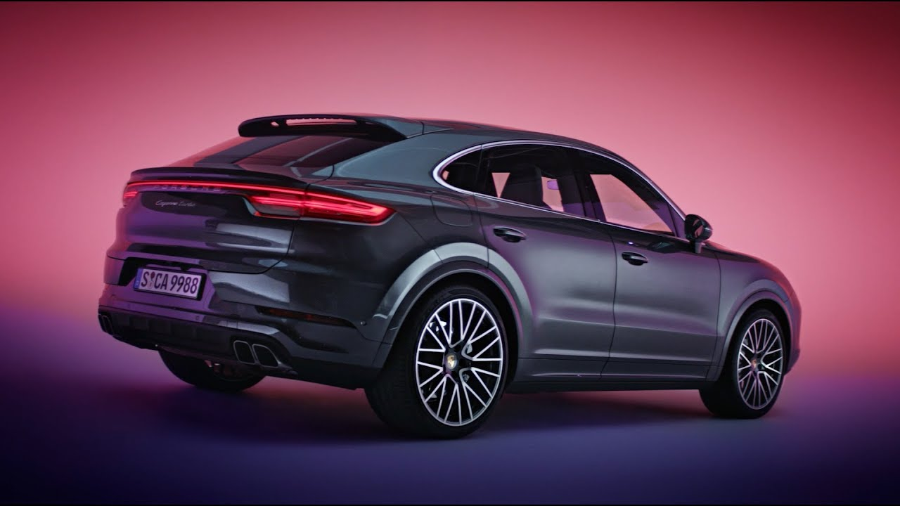 The new Porsche Cayenne Coupé - Design Film