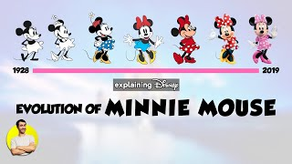 Evolution of MINNIE MOUSE Over 91 Years (1928-2019) Explained