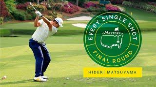 Every Shot From Hideki Matsuyama's Final Round   The Masters