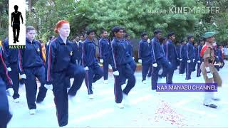 Netra Vidyalaya Blind Student's Parade in August 15th 2018
