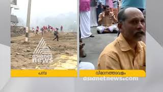 NO basic facilities in Pamba | Live Updates