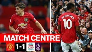 Manchester United | Match Centre | United 1-1 Liverpool | Premier League 2019/20