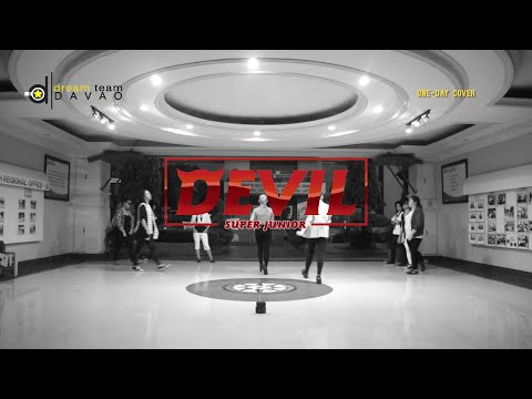 Super Junior (슈퍼주니어) - DEVIL Female Dance Cover| DREAM TEAM DAVAO
