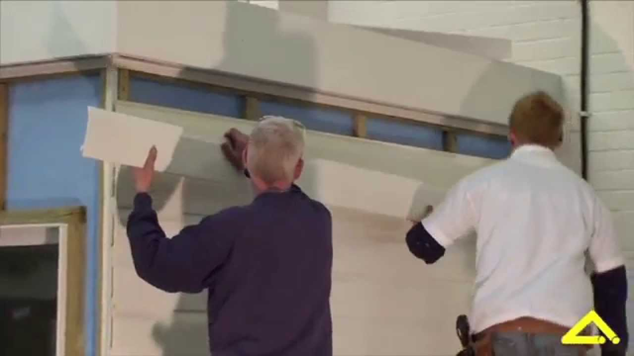 How To Fit Shiplap Wall Cladding By Angel Plastics Youtube