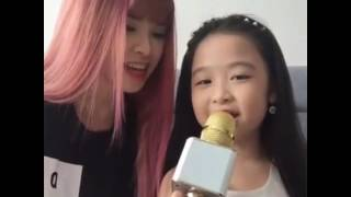 Gui Cho Anh - Khoi My Ft. Be Bao Ngoc (Hat Live Len Facebook Live Stream) (14/08/2016)