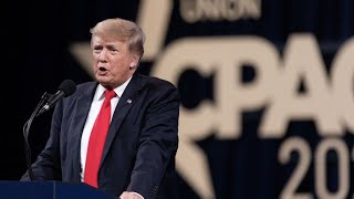 Trump teases 2024 presidential run after winning CPAC straw poll