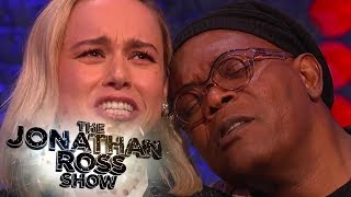 Brie Larson and Samuel L Jackson Sing Shallow - The Jonathan Ross Show
