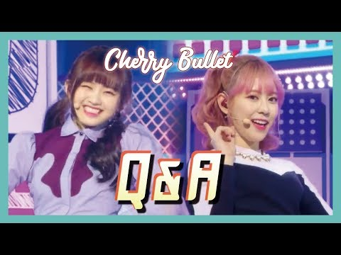 [HOT] Cherry Bullet -  Q&A, 체리블렛 - Q&A Show Music core 20190202