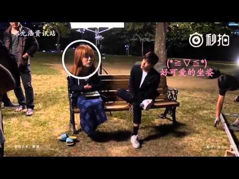 Kim Ga Eun prank Yunho During I Order you shooting