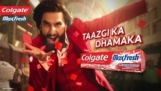 Colgate「MaxFresh」Taazgi Express with Ranveer Singh