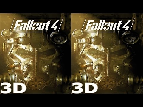 Fallout 4 3D video half SBS by Mitch141 141