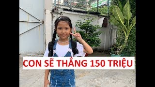 Bản sao Việt Hương thắng 20 triệu Thách thức danh hài ca hát, diễn hài năm 2 tuổi!!!
