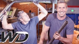 Foolproof Methods For Building A Roll Cage | NEW Wheeler Dealers