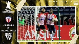 Junior FC 4 - 1 Independiente del Valle - HIGHLIGHTS & GOALS - 9/22/2020