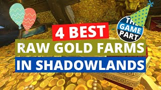 4 best raw gold farms in Shadowlands | Shadowlands Gold Farming
