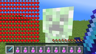 Minecraft, But Your Health Multiplies Every Time A Creeper Explodes You...