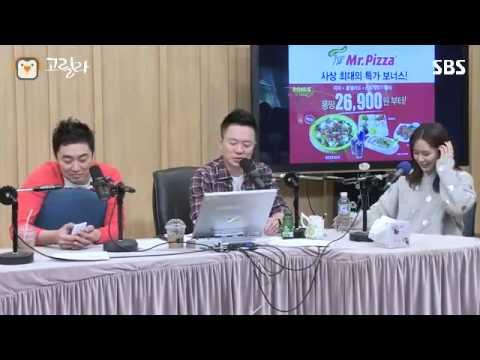 [SBS]컬투쇼, 손예진, 토하는 모습까지 예뻤다?