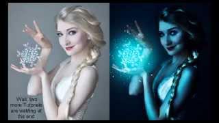 Frozen lighting effect   photoshop tutorial   photo effects