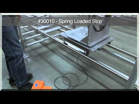 Worksmart Systems Spring Loaded Stop