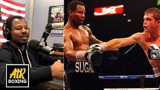 "How Good Was Canelo At 21? Shane Mosley Describes Fighting Young Saul ""Canelo"" Alvarez | AtR Podcast"