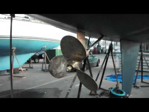 Bluefine Electric -The Original Bluefin prop test1- Thoosa 7000HT
