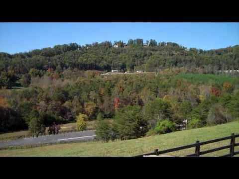 360 degree view of Brasstown Valley from Twiggs Overlook