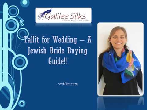 Tallit for Wedding – A Jewish Bride Buying Guide!!