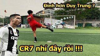 Thử Thách Bóng Đá với Ronaldo nhí Việt Nam kỹ thuật sút bóng và skills khiến Đỗ Kim Phúc bất ngờ