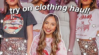 HUGE SPRING TRY-ON CLOTHING HAUL! ft. Princess Polly