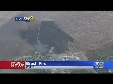 Small Brush Fire Reported In Irvine
