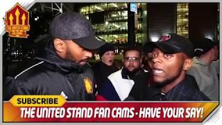 Not Solskjaer's Fault! Manchester United 0-2 Manchester City Fancam