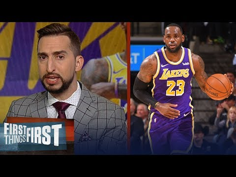 Nick Wright believes Lakers are best team in the league right now | NBA | FIRST THINGS FIRST