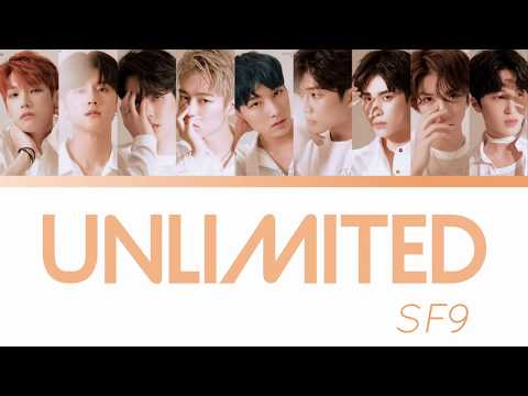 Unlimited - SF9 Color Coded Lyrics [Han/Rom/Eng]