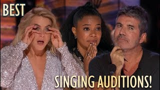 UNFORGETTABLE SINGING AUDITIONS ON GOT TALENT 2019!