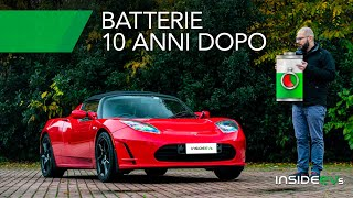 Come invecchiano le batterie di un'auto elettrica (Tesla)