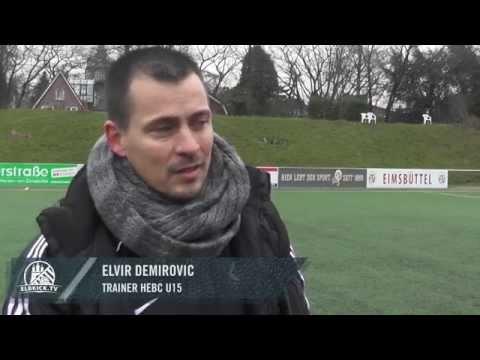 Elvir Demirovic (Trainer HEBC U15) und Pattrick Dietz (Trainer Eimsbütteler TV U15) - Die Stimmen zum Spiel (Eimsbütteler TV - HEBC, U15 C-Jugend, Verbandsliga) | ELBKICK.TV
