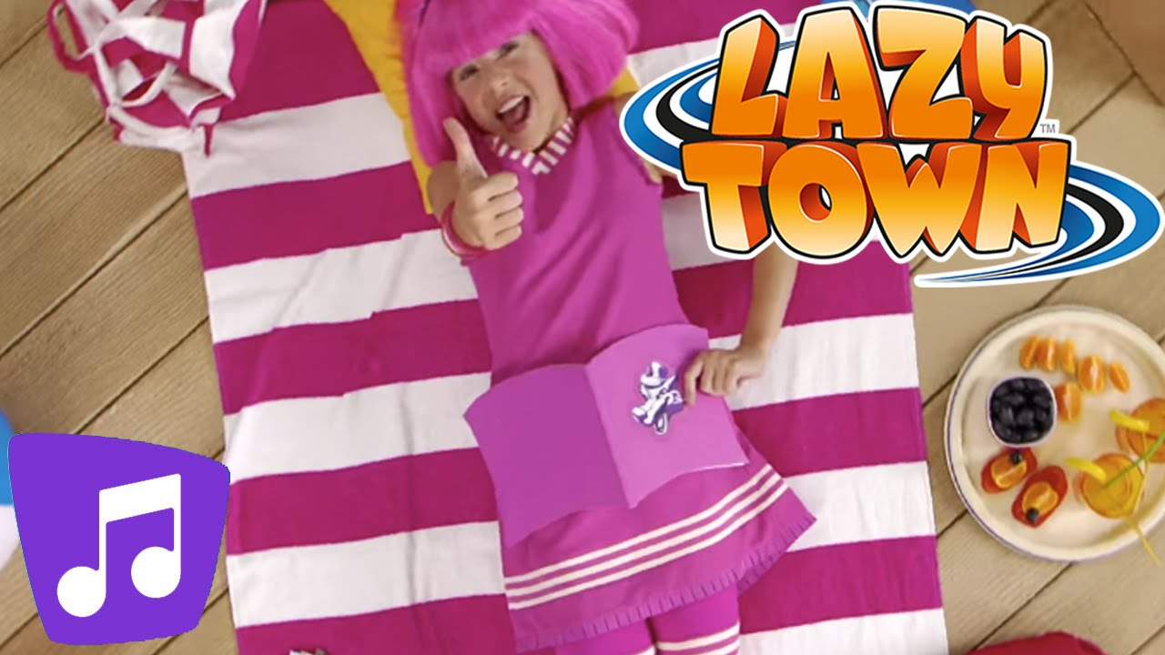 summer is the season music video lazytown youtube