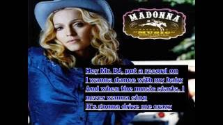 Madonna - Music (Lyrics)