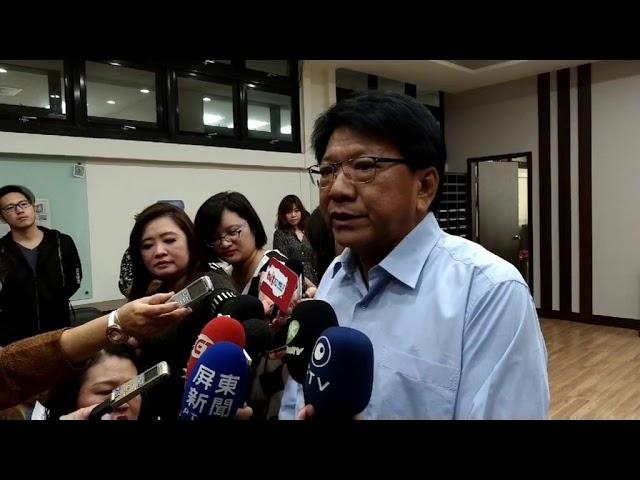 民進黨主席補選 潘孟安:尊重黨內前輩共同決定